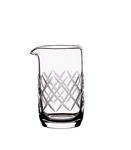 3 1/4 oz  Diamond Cut Mixing Beaker (case of 12)