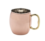 Solid Copper Moscow Mule Mug (case of 24)