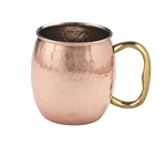 Solid Hammered Copper Moscow Mule Mug (case of 24)