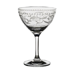MARTINI/COCKTAIL (8 OZ) VINTAGE DOTS (case of 24)