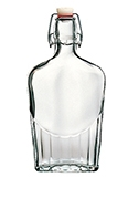 Swing Top Flask Bottle - 17 oz (case of 30)